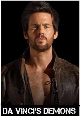 Da Vinci's Demons s1 - Tom Riley as Leonardo Da Vinci_595_SpoilerTV Watermark Large