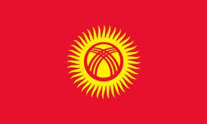 Bandera de Kirguizistan