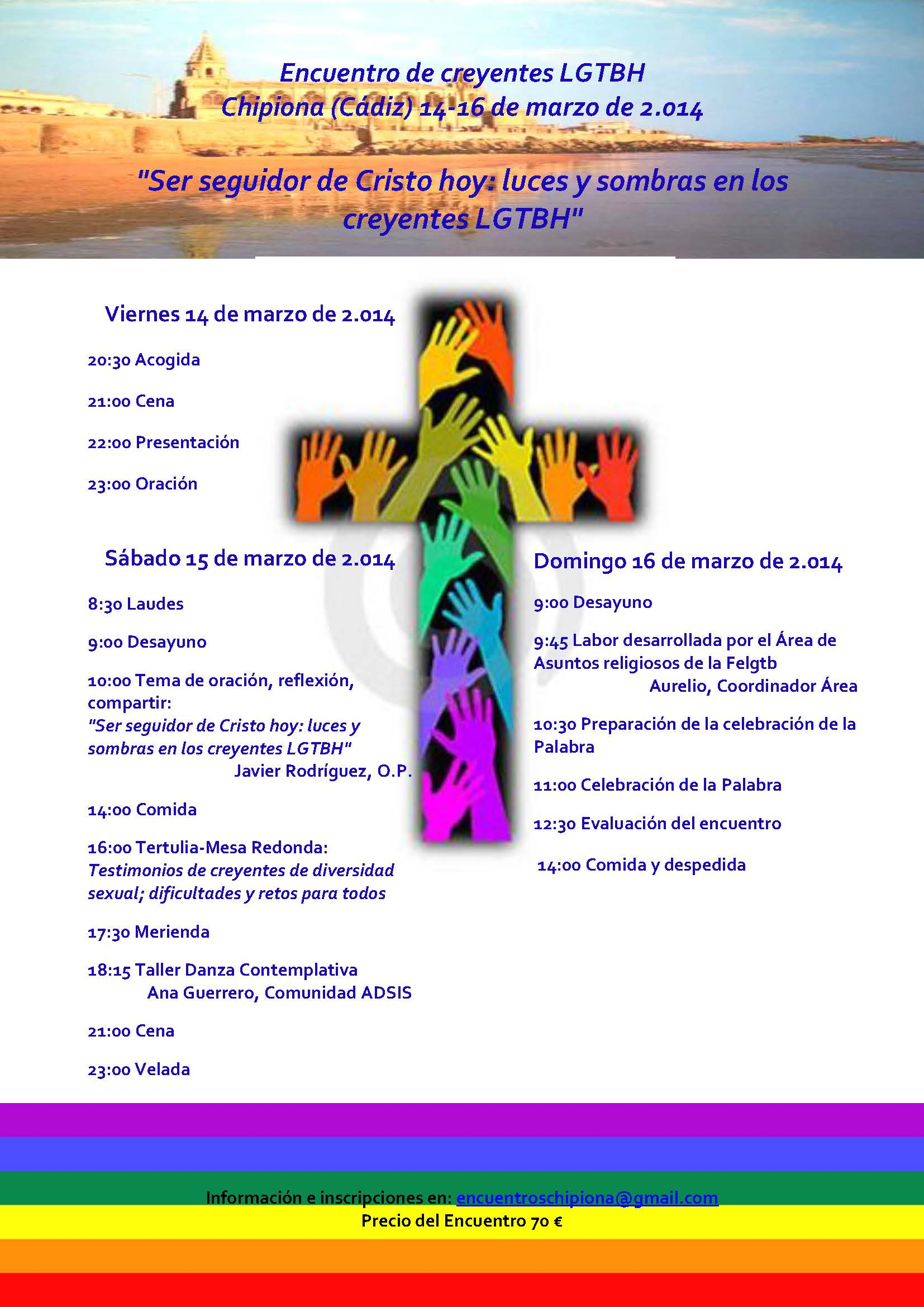 CARTEL CHIPIONA 2014