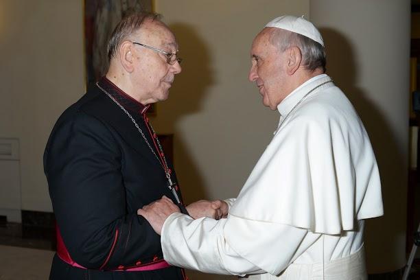 fernando-sebastian-y-el-papa-francisco