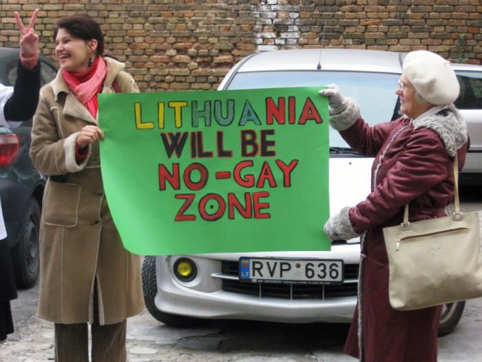 Homófobia Lituania