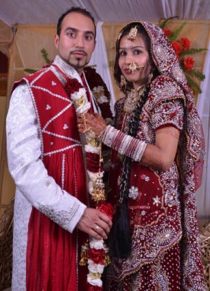Varkha Rani Wedding Picture