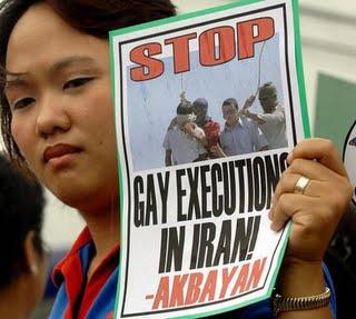 stop ejecuciones homosexuales en iran
