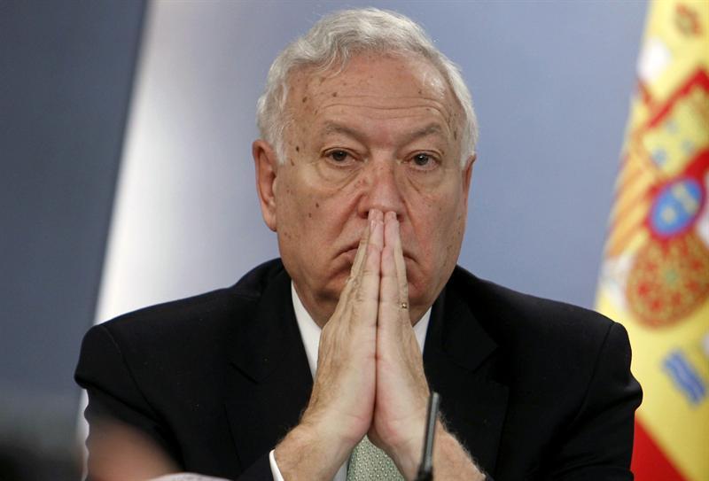 El-actual-ministro-de-Asuntos-Exteriores--Jose-Manuel-Garcia-Margallo-