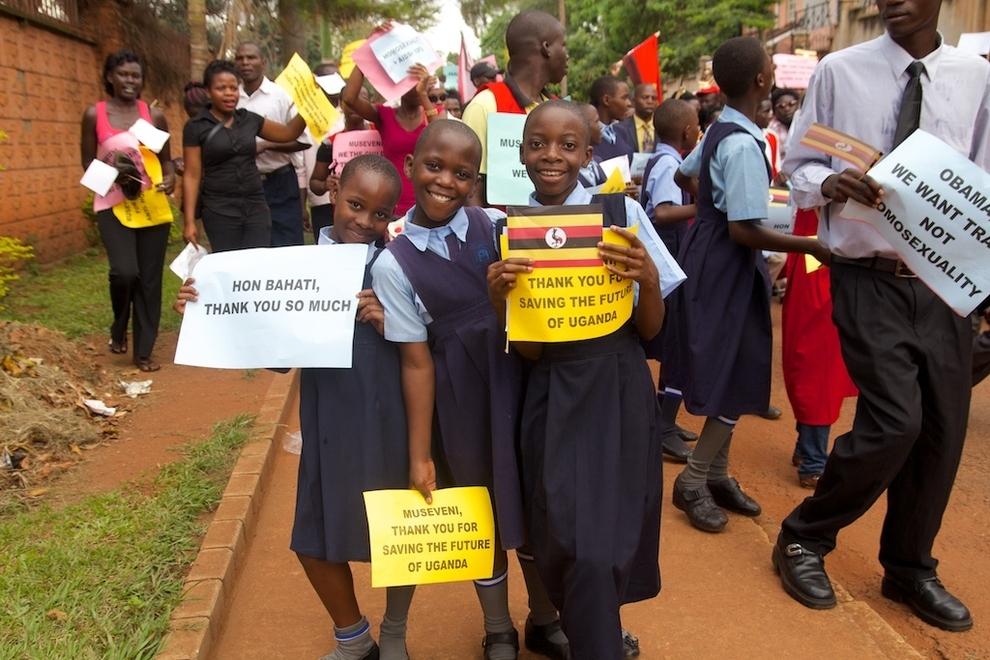 Manifestación-homófoba-en-Uganda