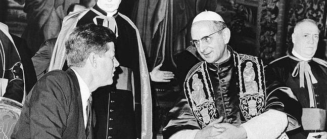 DOCU_GRUPO John F. Kennedy, Pope Paul VI