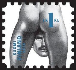 sello-homenaje-Tom-de-Finlandia