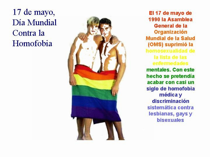 Cristianos Gays Día Internacional Contra La Homofobia