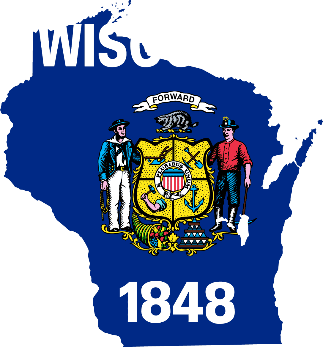 Wisconsin_flag_map