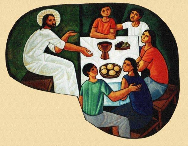 jesus comparte mesa- cerezo