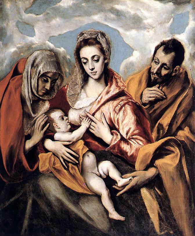 Virgen de la Leche - El Greco - 1595