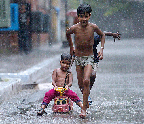 INDIA-WEATHER-RAIN-MONSOON
