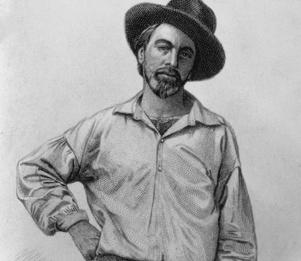 Flamboyant Whitman