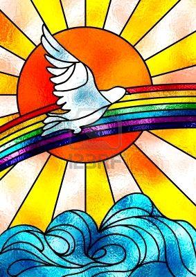 3129380-vidrieras-composici-n-que-muestra-una-paloma-blanca-volando-sobre-un-arco-iris-y-un-brillante-sol-il