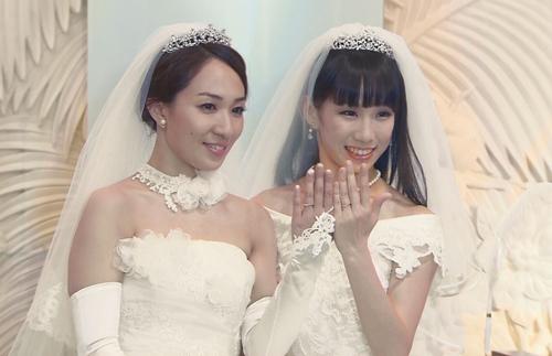 Ayaka Ichinose y Akane Sugimori
