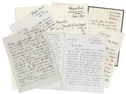 George Mallory letters to be auctioned at Bonhams in June