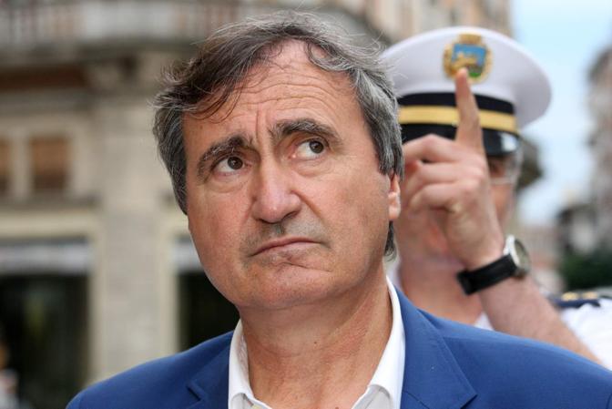 Mestre - Riviera XX Settembre - Sopralluogo del nuovo sindaco Luigi Brugnaro
