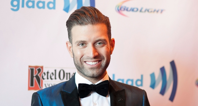 LOS ANGELES, CA - APRIL 12:  Omar Sharif; Jr. arrives to the 25th Annual GLAAD Media Awards - Dinner and Show on April 12, 2014 in Los Angeles, California.  (Photo by Gabriel Olsen/Getty Images for GLAAD)