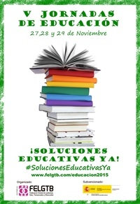 cartel-v-jornadas-de-educacion-soluciones-educativas-ya