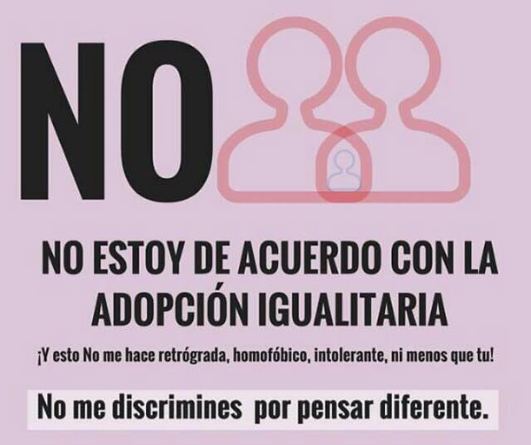 Adopcion homosexual en chile en contra