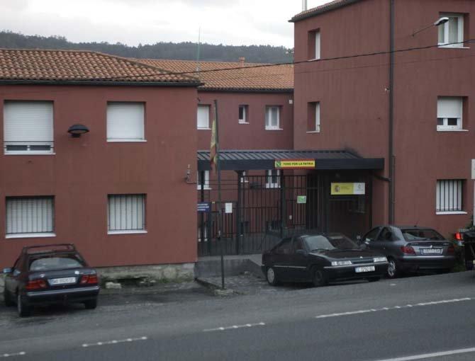 Cuartel guardia civil Pontedeume