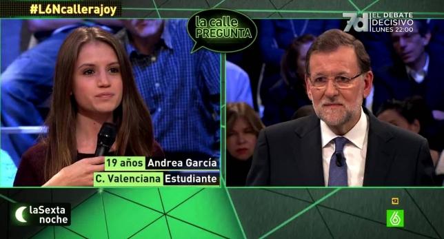 Rajoy en la Sexta