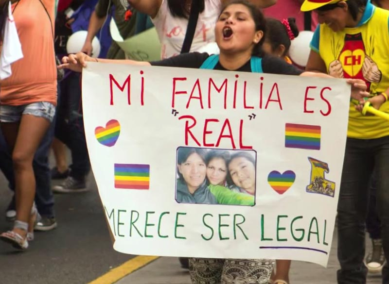Debate sobre la union civil homosexual en el peru