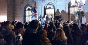 concentración-Plaça-Sant-Jaume-contra-acoso-por-LGTBIfobia