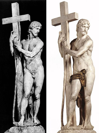 Michelangelo-risen-Christ-with-original