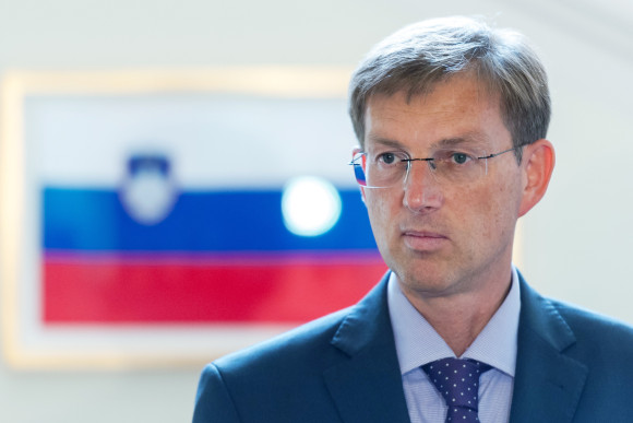 Miro Cerar, President of the Miro Cerar party, makes a statement after a meeting with the President of Slovenia, on July 16, 2014 in Ljubljana. Slovenian political newcomer Miro Cerar, whose party won Sunday's snap election, began talks on Monday to form a coalition government to try to drag the eurozone country out of political crisis. Cerar, a 50-year-old lawyer who helped draft the country's constitution when it broke away from Yugoslavia in 1991, told supporters that 'our task is to restore confidence in the state and that is what we are going to do'. AFP PHOTO / Jure Makovec (Photo credit should read Jure Makovec/AFP/Getty Images)