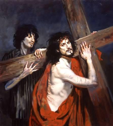 Cristo en Auschwitz