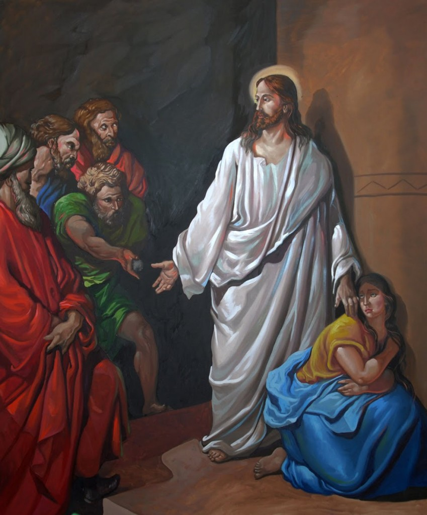 Jesus y la adultera