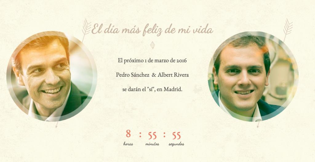 boda_Pedro_Sánchez_y_Albert_Rivera