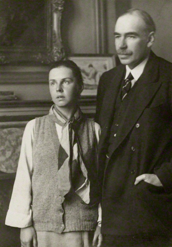 Lopokova_and_Keynes_1920s