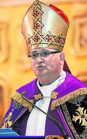 Pregon de Navidad por el obispo Jose Manuel Lorca Planes © Nacho García 12/12/2013 TFGP.