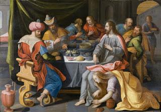 JESÚS CON MARÍA MAGDALENA - Jesus-chez-le-Pharisien1