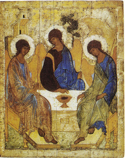 Rublëv, Andrei Icono de la Trinidad 1411