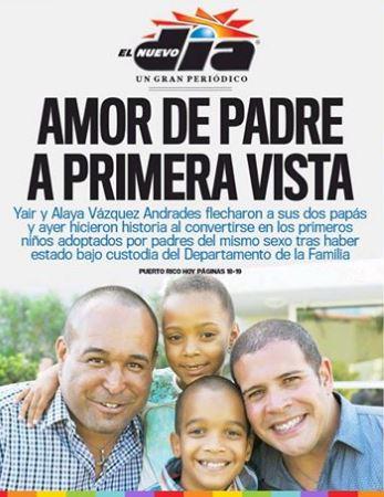 familia-homoparental-Puerto-Rico-en-portada-Nuevo-Dia