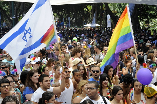 Ambassador Shapiro attended the Gay Pride Parade on Friday, June 8, 2012.  In Gan Meir park, he met with several groups working for LGBT rights and answered questions from media about LGBT Human Rights.   Prior to the kick-off of the parade, the Ambassador took to the main stage.  Speaking to a crowd of thousands of marchers he emphasized the recent work of the U.S. government to raise awareness of LGBT rights around the world and acknowledged the achievements of the Israeli LGBT community to gain equal rights.  After the speech, he met Embassy personnel marching in the parade with diplomats from other missions in Tel Aviv and joined them along the parade route.