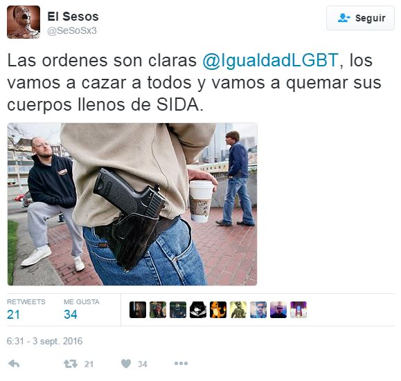 captura-mensaje-homofobo-Twitter