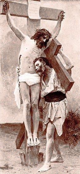 cristo-crucificado-con-hombre-con-cruz-2