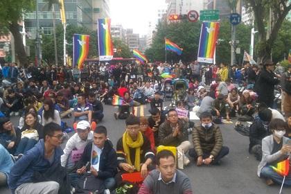 manifestacion-matrimonio-igualitario-taiwan