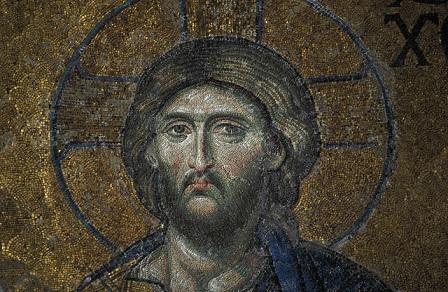 2001 --- Detail of Mosaic in Hagia Sophia --- Image by © Hanan Isachar/CORBIS