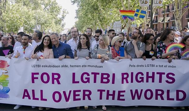 Andrea Levy y Maroto. MARCHA LGTBI. Orgullo