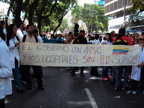 protesta-doctores-venezuela-mayo-2017