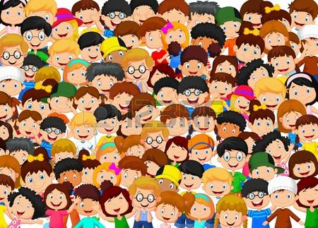 35862808-multitud-de-ni-os-de-dibujos-animados