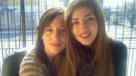madre e hija lesbianas