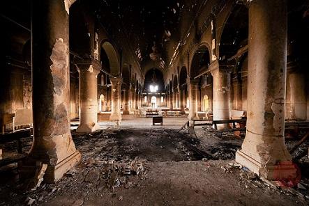 una-iglesia-destruida-por-el-daesh-en-qaraqosh