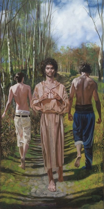 andre-durand_on-the-road-of-emmaus