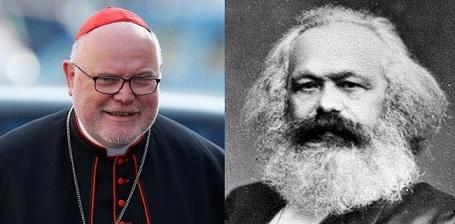el-cardenal-reinhard-marx-y-karl-marx